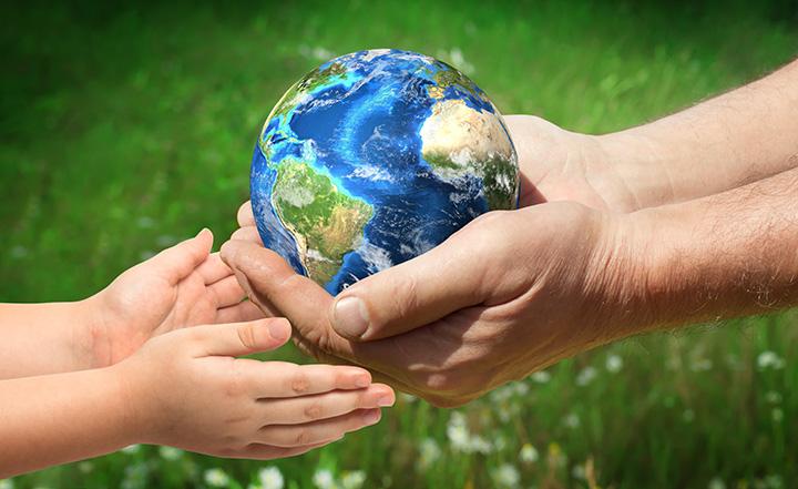 El mundo en las manos