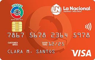Tarjeta de Crédito Unase