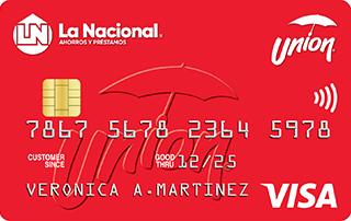 Tarjeta de Crédito Unión