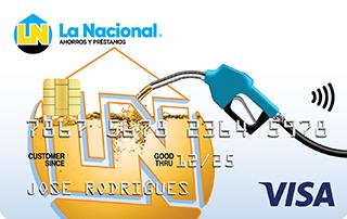 Tarjeta de Crédito Combustible