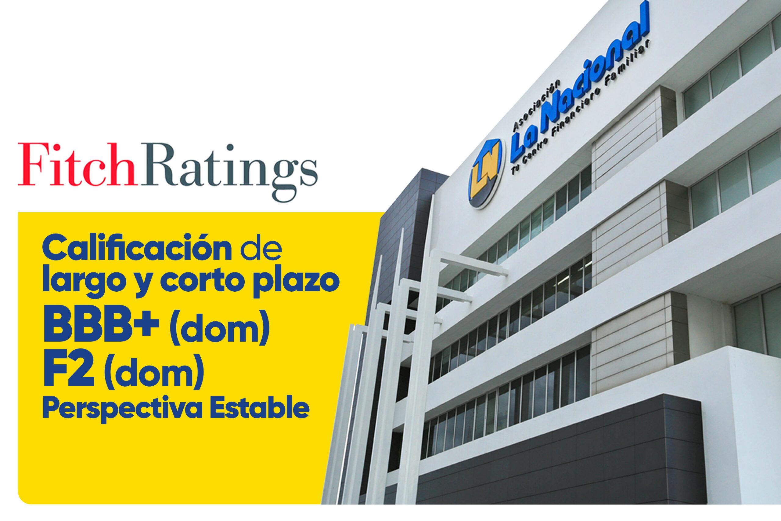 Calificación Fitch ratings - La Nacional